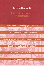 Cover of Socialist History, No 35